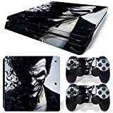 Ps4 Slim Playstation 4 Slim Console Skin Decal Sticker The Joker + 2 Controller Skins Set (Slim Only)