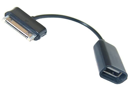 1041 opinioni per CAVO OTG ADATTATORE CONNETTORE PORTA USB per SAMSUNG P5100 P5110 GALAXY TAB 2