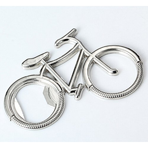 Dolland Portable Creative Bicycle Bottle Opener Keychain Key Ring For Cycling Bike Lover