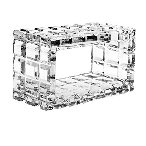 Majestic Gifts AC412 European Crystal Napkin Rings (Set of 4), -