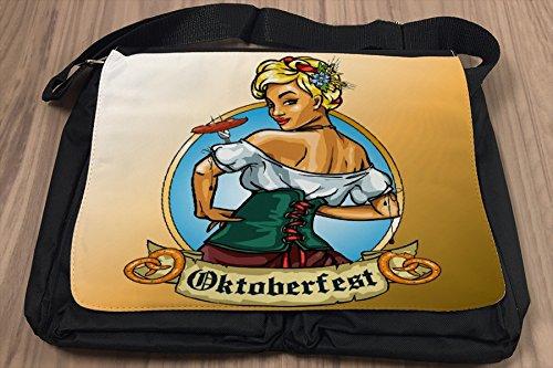Borsa Tracolla Vacanza Agenzia Di Viaggi Oktoberfest Stampato