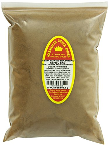 UPC 852675864940, Marshalls Creek Spices Refill Pouch Beau Monde Seasoning, XL, 20 Ounce