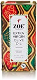 Zoe Extra Virgin Olive Oil 1 Liter tins (Pack of 2), Spanish Extra Virgin Olive Oil, First Cold Pressing of Spanish Cornicabra Olives, Delicate Aromatic Buttery Flavor
