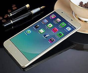 Teeno 3 G Teléfono Móvil Libre Oro Smartphone 5.5 Pulgada ...