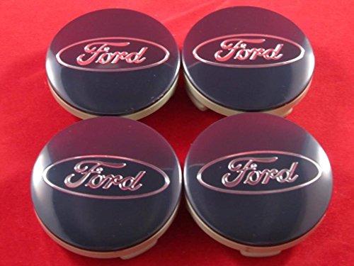 FORD FUSION ESCAPE FOCUS FIESTA BLUE CENTER CAPS CAP 6M21-1003-AA CP9C-1A096-AA (Wheel Cap Center 52mm)
