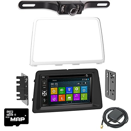 Otto Navi DVD GPS Navigation Multimedia Radio and Dash Kit for Hyundai Sonata 2018 and up with back up camera and extra