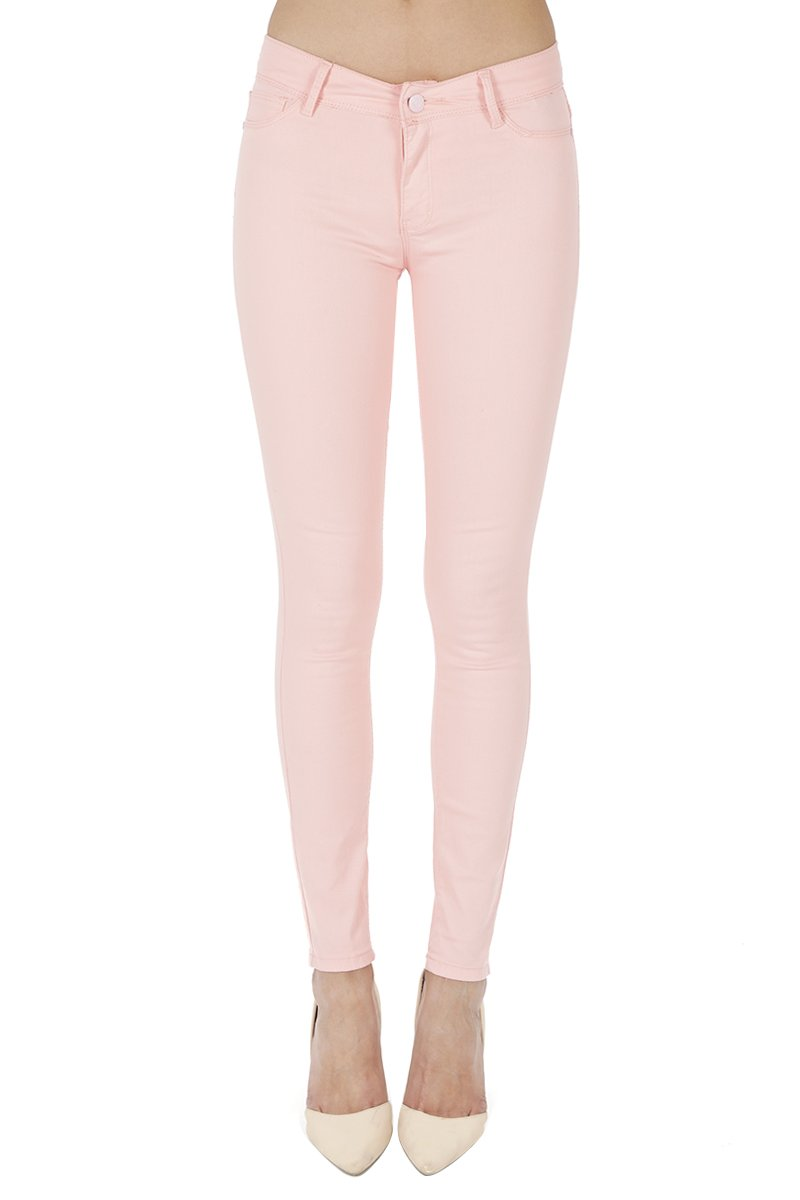 Anymore Jeans Women's Skinny Uniform Color Butt