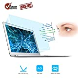 [2-Pack] Screen Protector -Blue Light Filter Compatible for MacBook Air 13 13.3', FORITO Eye Protection Blue Light Blocking & Anti Glare Screen Protector Compatible Apple MacBook Air 13 Inch