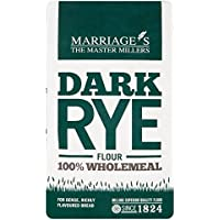 Marriage's Dark Rye Flour 1kg