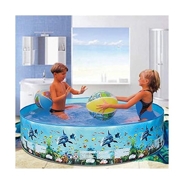 Yankuoo Piscina gonfiabile di grandi dimensioni per adulti e bambini piscina piscina piscina all'aperto coperta vasca… 4 spesavip