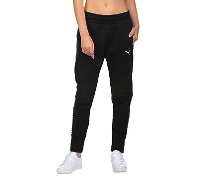 Puma pantalón de chándal de mujer, color Puma Black, tamaño medium ...