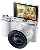 Samsung NX3000 Wireless Smart 20.3MP Mirrorless Digital Camera with 20-50mm Compact Zoom and Flash (White)