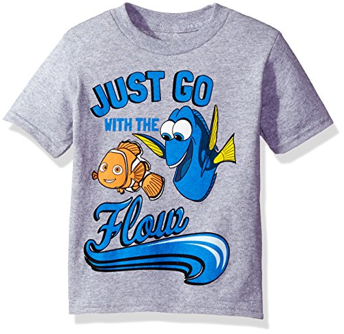 Disney Toddler Boys Dory Roll with the Current Short Sleeve T-Shirt