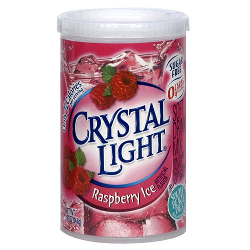 UPC 043000945346, Crystal Light On The Go Raspberry Ice, 16, 3.5-Ounce Tubs (Pack of 5)