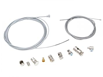 Kit universal de reparación, cable de acelerador y cable de embrague: Amazon.es: Coche y moto