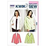 Kwik Sew Ladies Sewing Pattern 3693 Casual Jackets