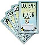 DOG BATH IN A PACK - Largest Bath and Grooming Moist Wipes in Individual PacksNEW Perfect for Travel or When on the GO 30ct.