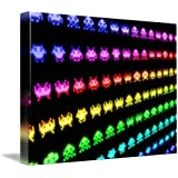 Wall Art Print entitled Space Invaders by Michael Tompsett