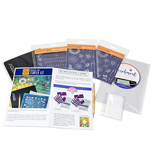 (Groovi Go! Parchment Craft Starter Kit Including Step-by Step)