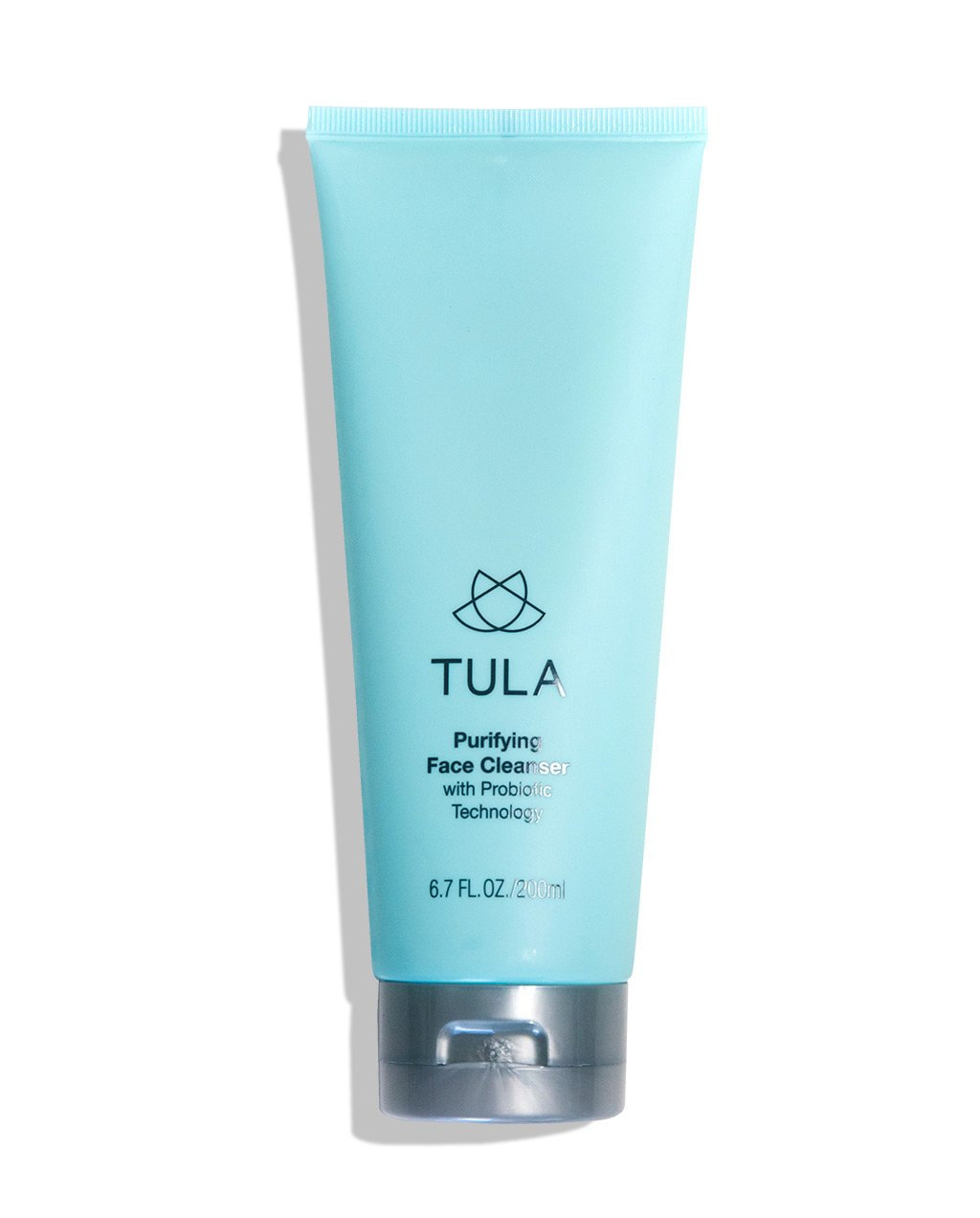 TULA Probiotic Skin Care Purifying Face Cleanser, Deep Pore Cleansing Wash, Removes Makeup, Nourishing and Hydrating, 6.7 oz.