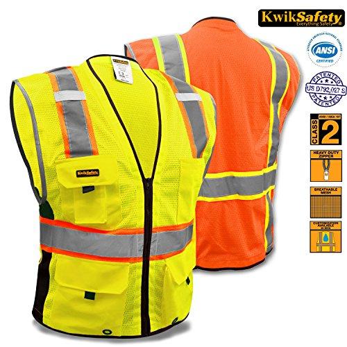2 Traffic Safety Vest - 5