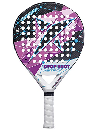 DROP SHOT Astro - Pala de pádel, Color Negro/Rosa/Blanco, 38 ...