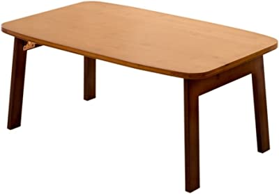 Xiaolin Table Folding Table Mini Small Table Space-Saving Desk Wooden Desk Small Dining Table Sofa Table Lazy Table Laptop Table Bed Simple Desk Removable Study Desk Simple Creative Dining Table Bay