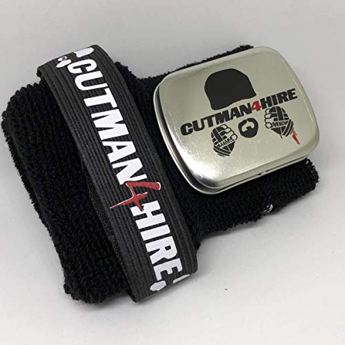 Cutman4hire Cornerman's Wrist Band, MMA, Boxing