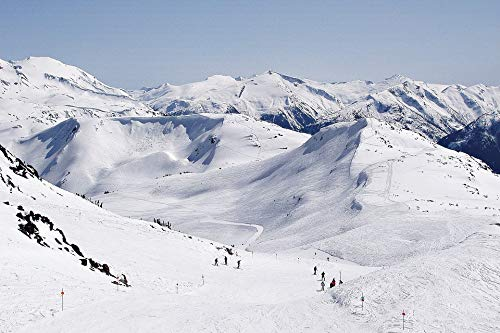 - Home Comforts Peel-n-Stick Poster of Skiing Mountain Blackcomb Whistler Snow Vivid Imagery Poster 24 x 16 Adhesive Sticker Poster Print
