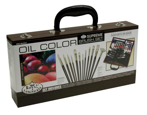 Royal & Langnickel Supreme Oil Color Painting Box Set (Oil Painting Supplies compare prices)