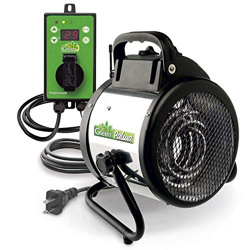 Bio Green PAL 2.0/USDT Palma Greenhouse Heater incl. Digital Thermosta (Renewed)