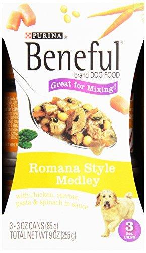 Purina Beneful Romana Style Medley Dog Food, 3 ct, 3 oz each
