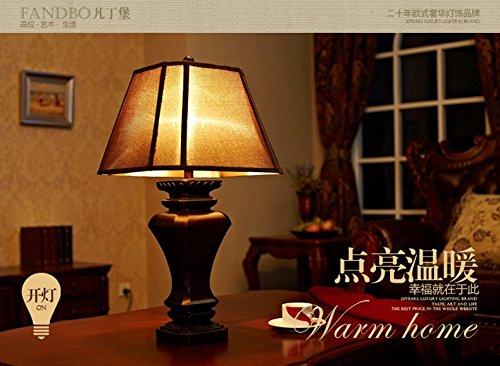 Ehime retrò lampade americano idillica europea camera da letto di
