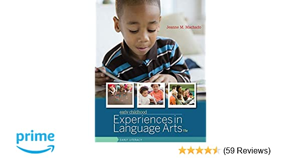 Amazon Early Childhood Experiences In Language Arts Early