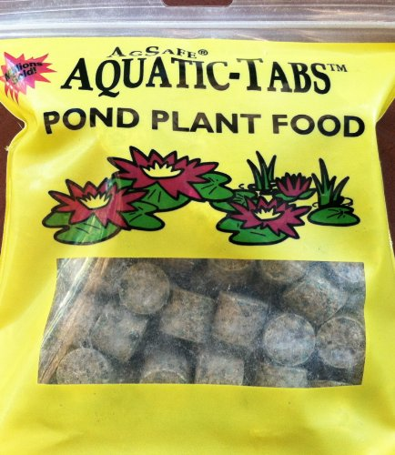 (AgSafe Aquatic Tabs Pond Plant Water Lily Fertilizer - 100 Tabs )