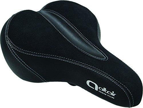 Ergo Gel Saddle - Altair Comfort Ergo Gel 270 x 195mm Saddle, Black