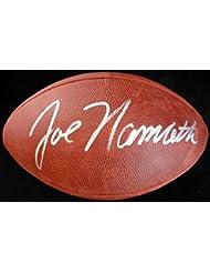 Joe Namath Autographed NFL Leather Football New York Jets Beckett BAS