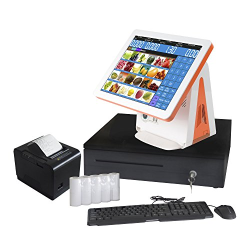 ZHONGJI All In One Retail Bundle Pos Cash Register, used for sale  Delivered anywhere in USA