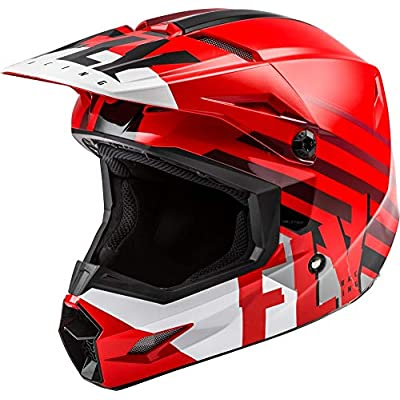 Fly Racing 2020 Kinetic Helmet - Thrive (X-Small) (RED/White/Black): Automotive
