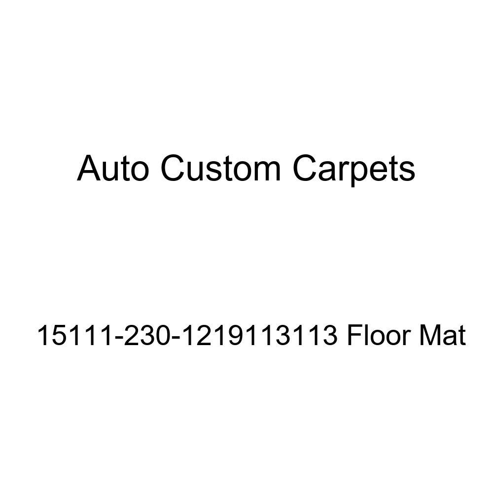 Auto Custom Carpets 15111-230-1219113113 Floor Mat