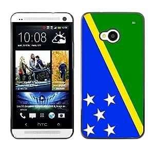 - Flag - - Monedero pared Design Premium cuero del tir¨®n magn¨¦tico delgado del caso de la cubierta pata de ca FOR HTC 801e HTC One M7 Funny House