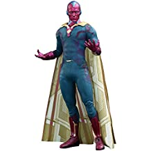 Hot Toys Movie Masterpiece Vision Avengers Age of Ultron Sixth Scale Acion Figure