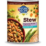 NATURE'S RECIPE 799897 Cuts In Gravy Healthy Skin Vegetarian Can For Dog, 13.2-Ounce by Nature's Recipe