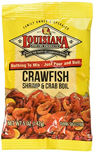 Louisiana Boil Crwfsh Crab Shrimp, 5 Oz (Pack of 4)