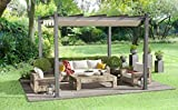 Tribesigns 10x10ft Patio Pergola Canopy for Outdoor