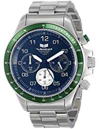 Unisex ZR2016 ZR-2 Silver Green Black Watch