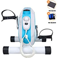 Electric Pedal Exerciser, Electronic Physical Therapy and Rehab Bike Pedal Motorized Trainer for Arm/Leg for Machine Stroke Hemiplegia Training Equipment
