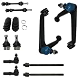 #8: Detroit Axle - 12pc Front Upper Control Arms w/Ball Joint Assembly, Lower Ball Joints, Sway Bar Links, Inner Outer Tie Rods w/Rack Boot Kit for 2002-2005 Dodge Ram 1500 2WD