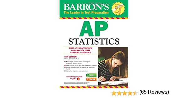 Amazon barrons ap statistics 8th edition 9781438004983 amazon barrons ap statistics 8th edition 9781438004983 martin sternstein phd books fandeluxe Image collections