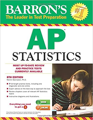 Amazon barrons ap statistics 8th edition 9781438004983 barrons ap statistics 8th edition 8th edition fandeluxe Image collections